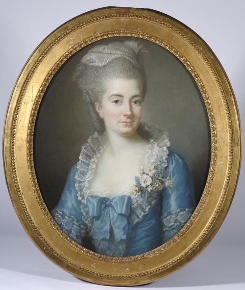 3 Vigee Le Brun Mme Louis Vigee dated 1774 Drouot 2015