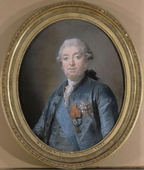 8 Vigee Le Brun Prince de Montbarrey dated 1779 Versailles