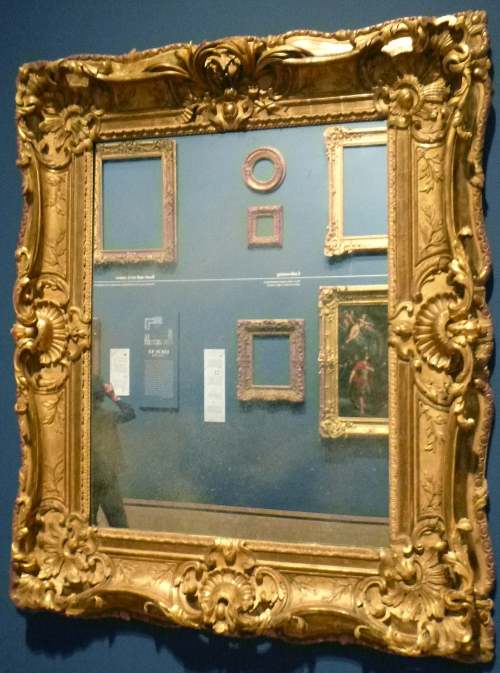 Chérin frame c1770 Getty Museum