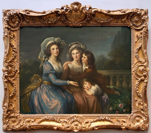 Vigée Le Brun The Marquise de Pezay, and the Marquise de Rouge with Her Sons Alexis and Adrien 1787 Photo Marie Wise on flickr