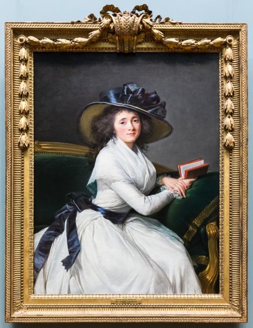 Vigee Le Brun Contesse de la Châtre Met Mus NY Photo Allan Harris sm