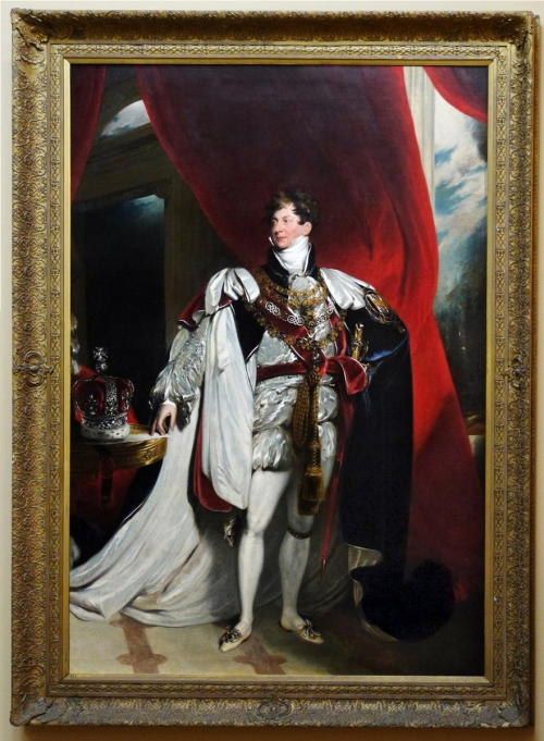 11 Sir Thomas Lawrence George IV coronation portrait Chatsworth sm