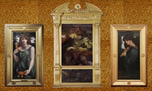 13 F R Leyland triptych