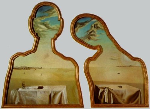 16 Salvador Dali Couple with their heads in the clouds Museum Boijmans van Beuningen Rotterdam