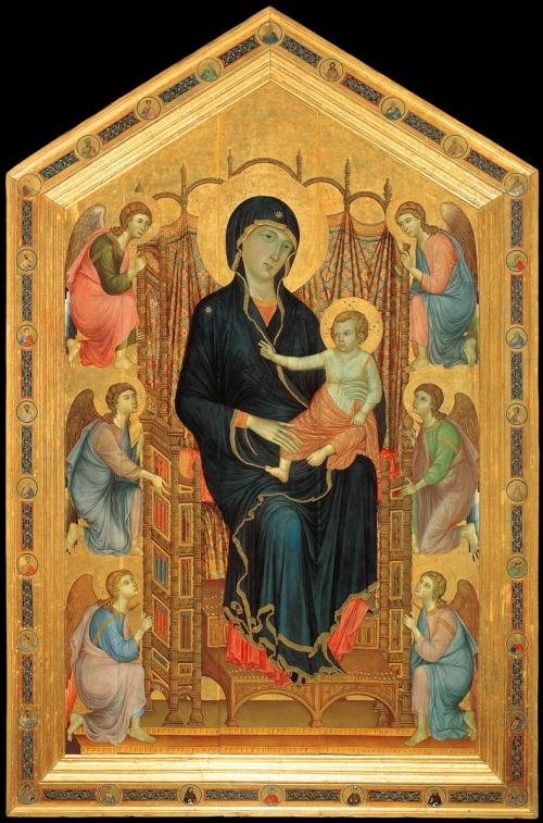 5 Duccio Rucellai 1285 Madonna 2 sm