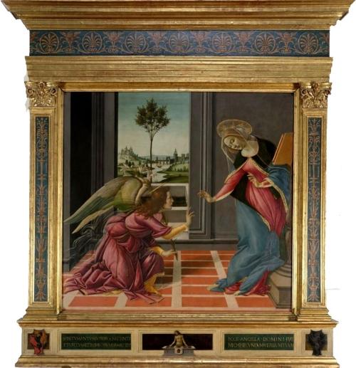 7 Botticelli Annunciation