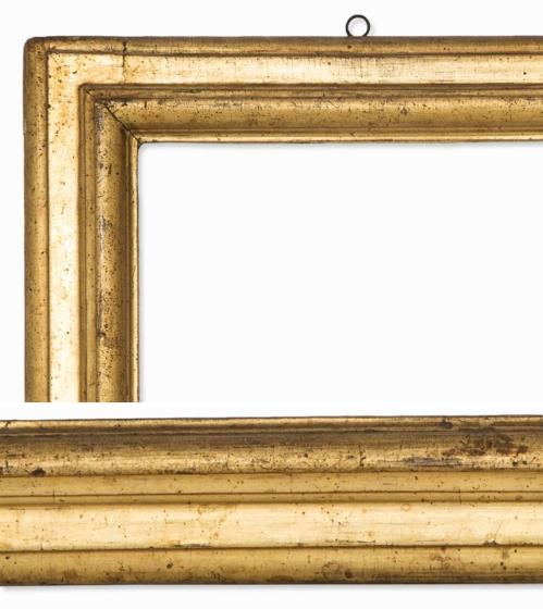 Lot 84 Italian giltwood moulding frame C17 details