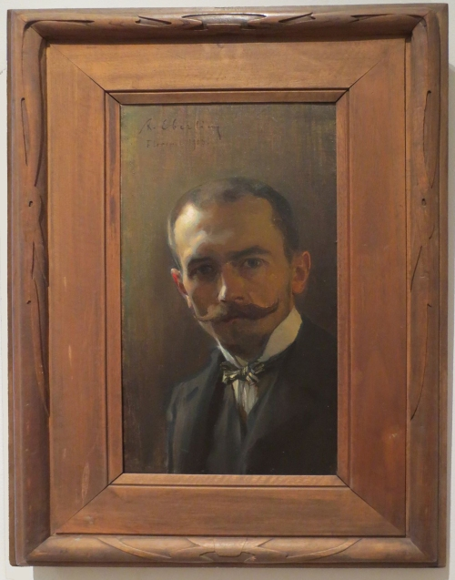 Alfred Eberling Self portrait 2016 exh State Russian Museum ed