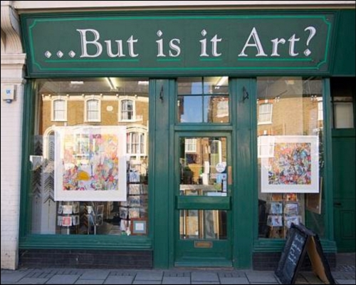 But is it Art The London Egotist