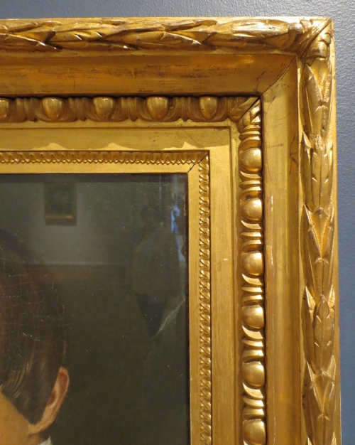 Grigory Soroka Self-portrait detail