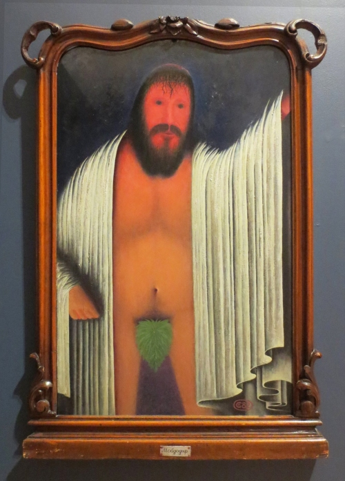 Nicolai Sarzhin Self portrait 2016 exh State Russian Museum ed