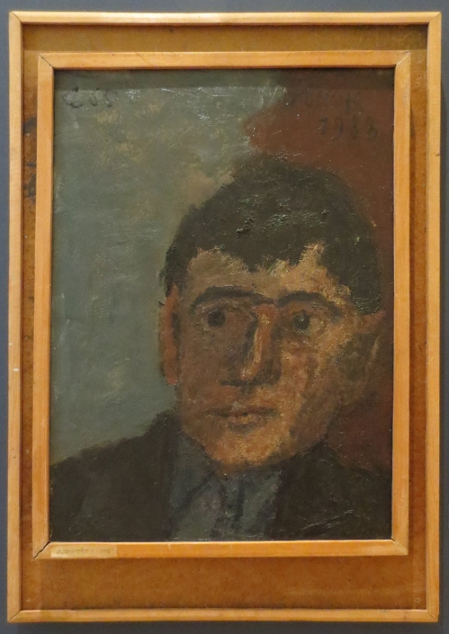 Solomon Rossine Self Portrait 2016 exh State Russian Museum ed