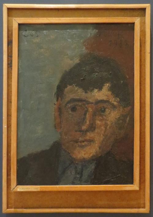 Solomon Rossine Self Portrait 2016 exh State Russian Museum ed