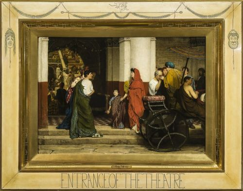 1-alma-tadema-entrance-to-a-roman-theatre-april-1866-now-fries-museum-leeuwarden