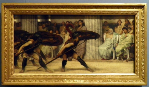 14-alma-tadema-the-pyrrhic-dance-1869-o-c-81-3x40-cm-guildhall-art-gall-1st-pic-in-ra-exh