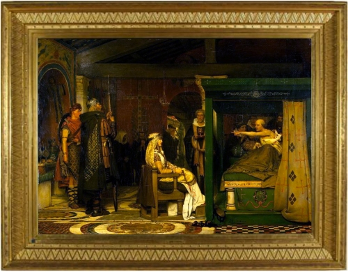 19-queen-fredegunda-visits-bishop-praetextatus-on-his-deathbed-1864-99x138-cm-133x170-5cm-fries-museum-ed