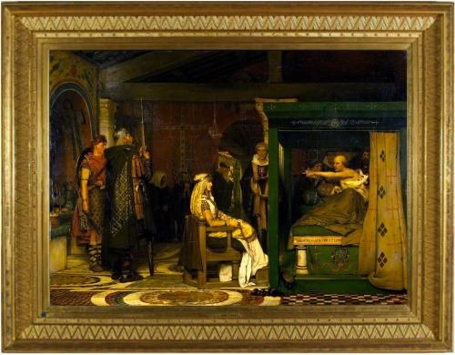 19-queen-fredegunda-visits-bishop-praetextatus-on-his-deathbed-1864-99x138-cm-133x170-5cm-fries-museum-ed