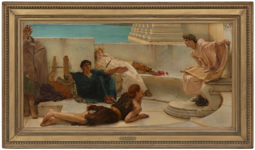 48-dolman-alma-tadema-a-reading-from-homer-1885-philadelphia-mus-of-art-mus-image-sm