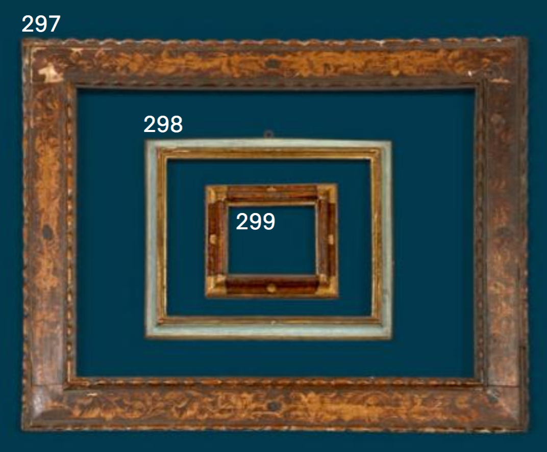 Glasses Frame In Spanish : Artcurial: sale of antique frames in Paris 2017 The ...
