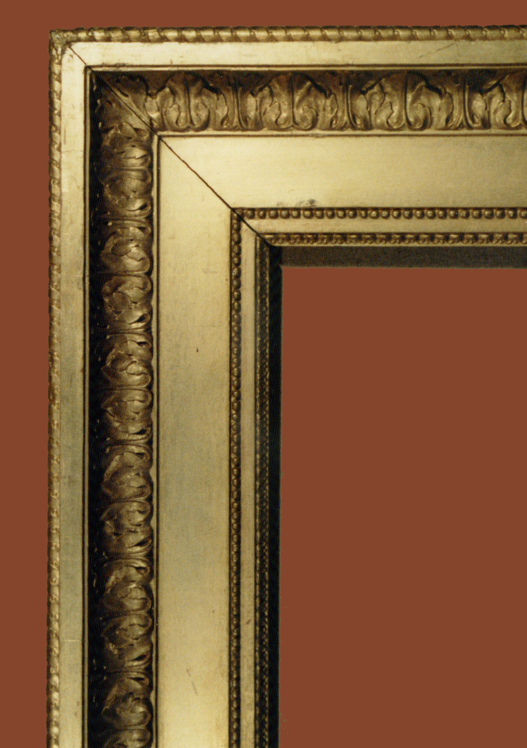A signed frame by jean chrin the frame blog 9 louis xvi frame c1775 85 sight size 124 x 82 cm width 15 cm detail collection paul mitchell jeuxipadfo Images