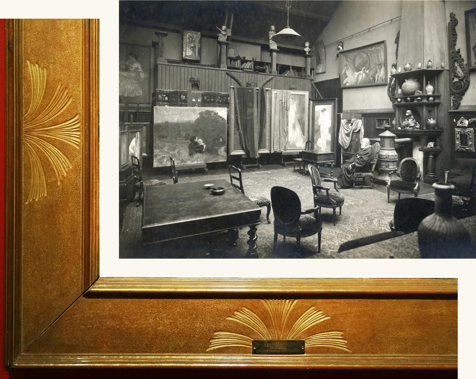 Albert Besnard: Art Nouveau, Symbolist and antique frames   The ...