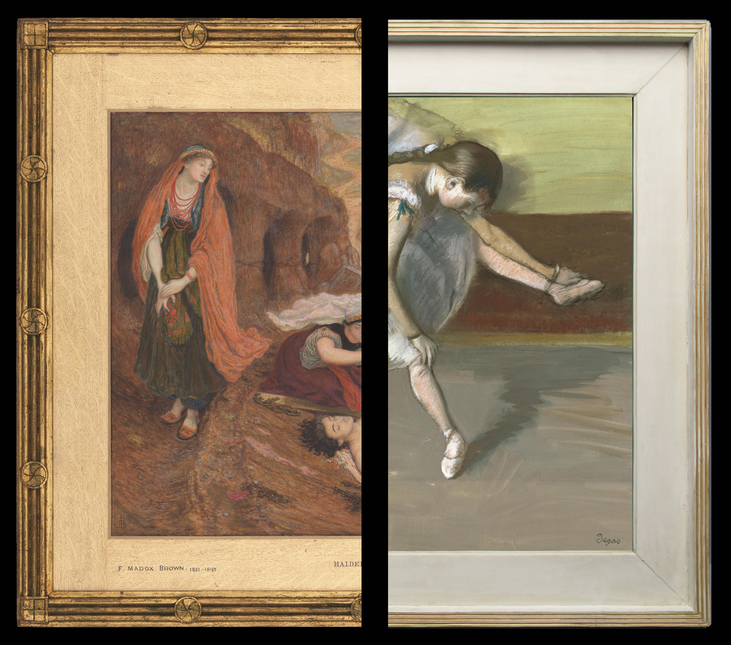 How Pre-Raphaelite frames influenced Degas and the Impressionists ...