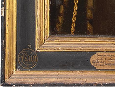 10 Brussels Anon Donatrix Jacomijne Huioels detail 1547 Mus des B A Brussels
