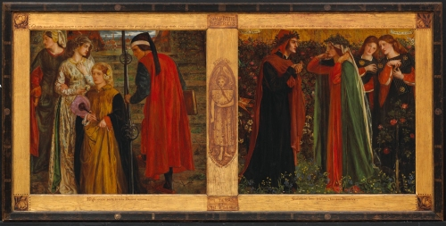 10 Rossetti The Salutation of Beatrice 1859 National Gallery of Canada Ottawa ed
