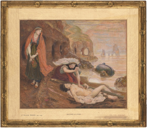 11 Ford Madox Brown The finding of Don Juan NGV sm