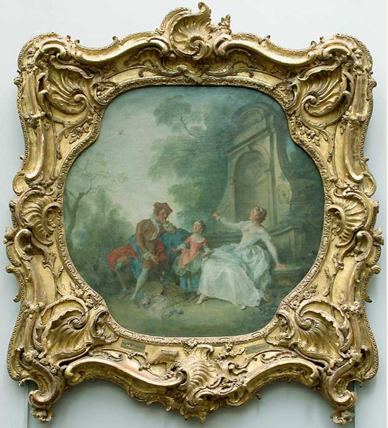 18th Century French Frames And Their Ornamentation The Frame Blog