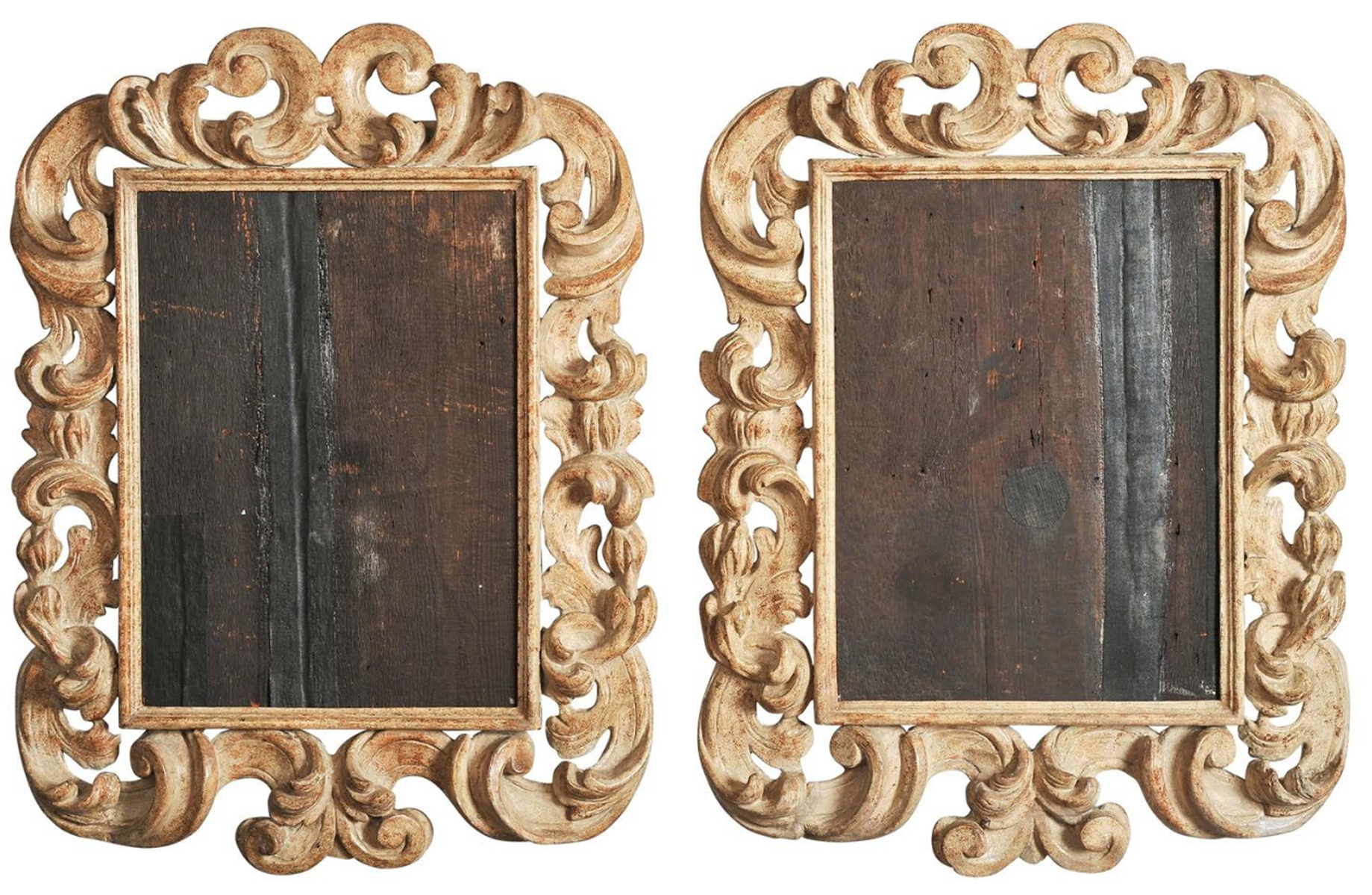 The Enigma Of An Italian Baroque Leaf Frame The Frame Blog