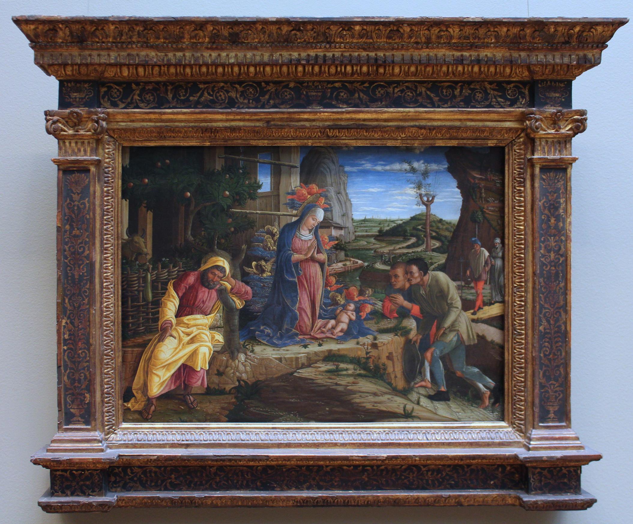 lamentation over the dead christ mantegna