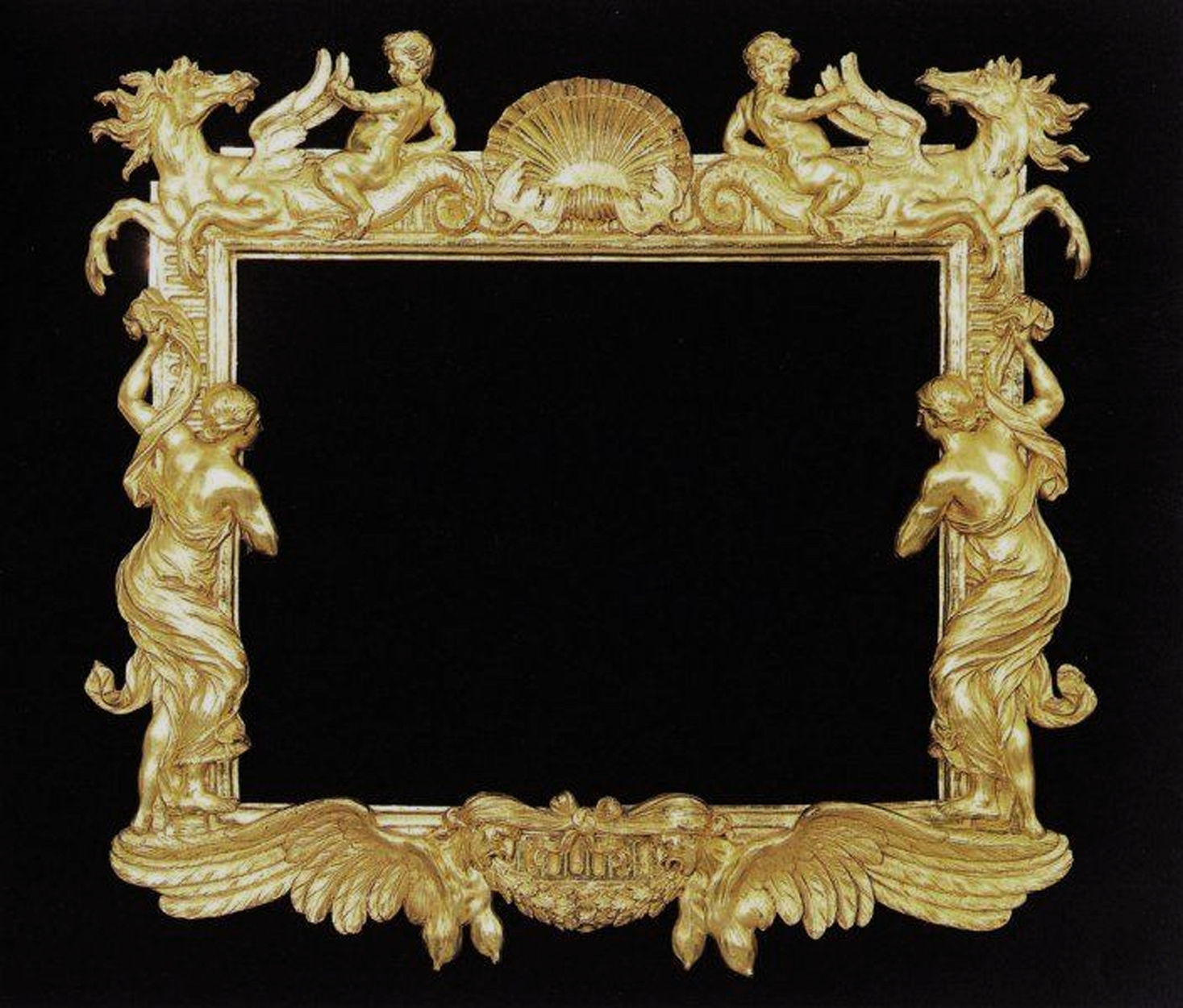 Decorative Arts Baroque Picture Frame 8×10 Profit Small