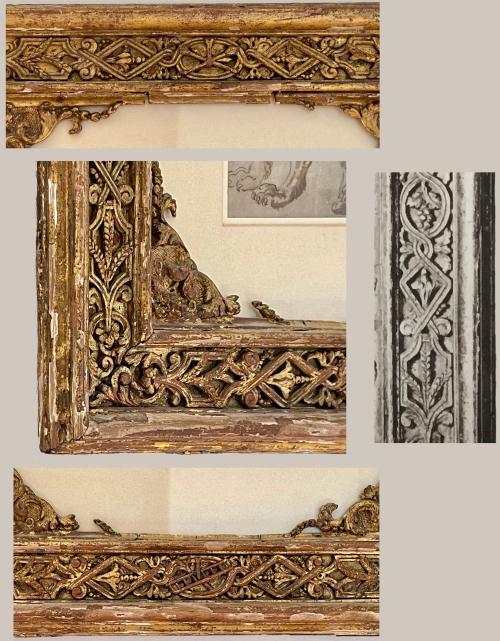 15F Square frame details