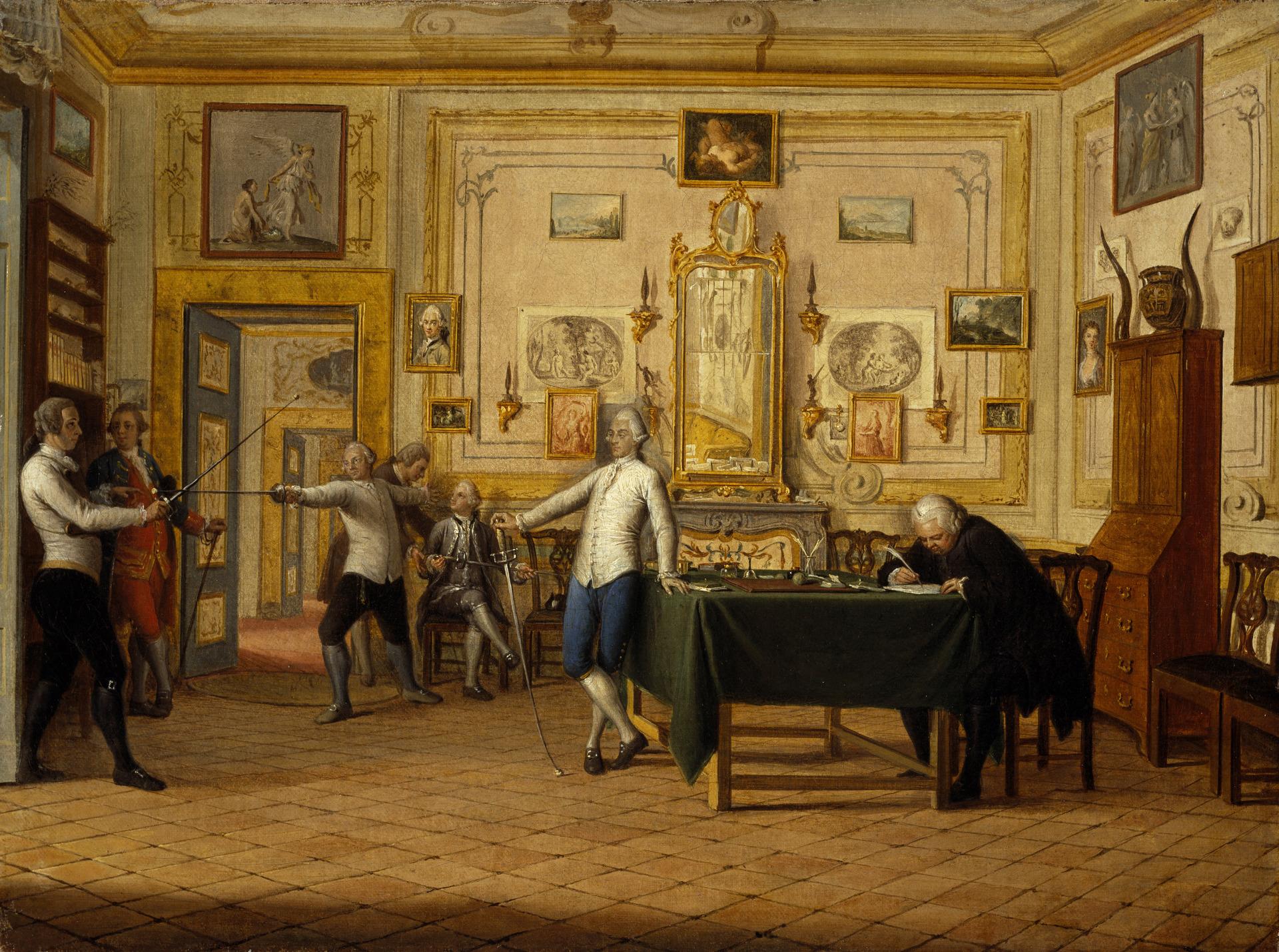 18 Pietro Fabris Kenneth Mackenzie 1st Earl of Seaforth in Naples c1770 Scottish NPG
