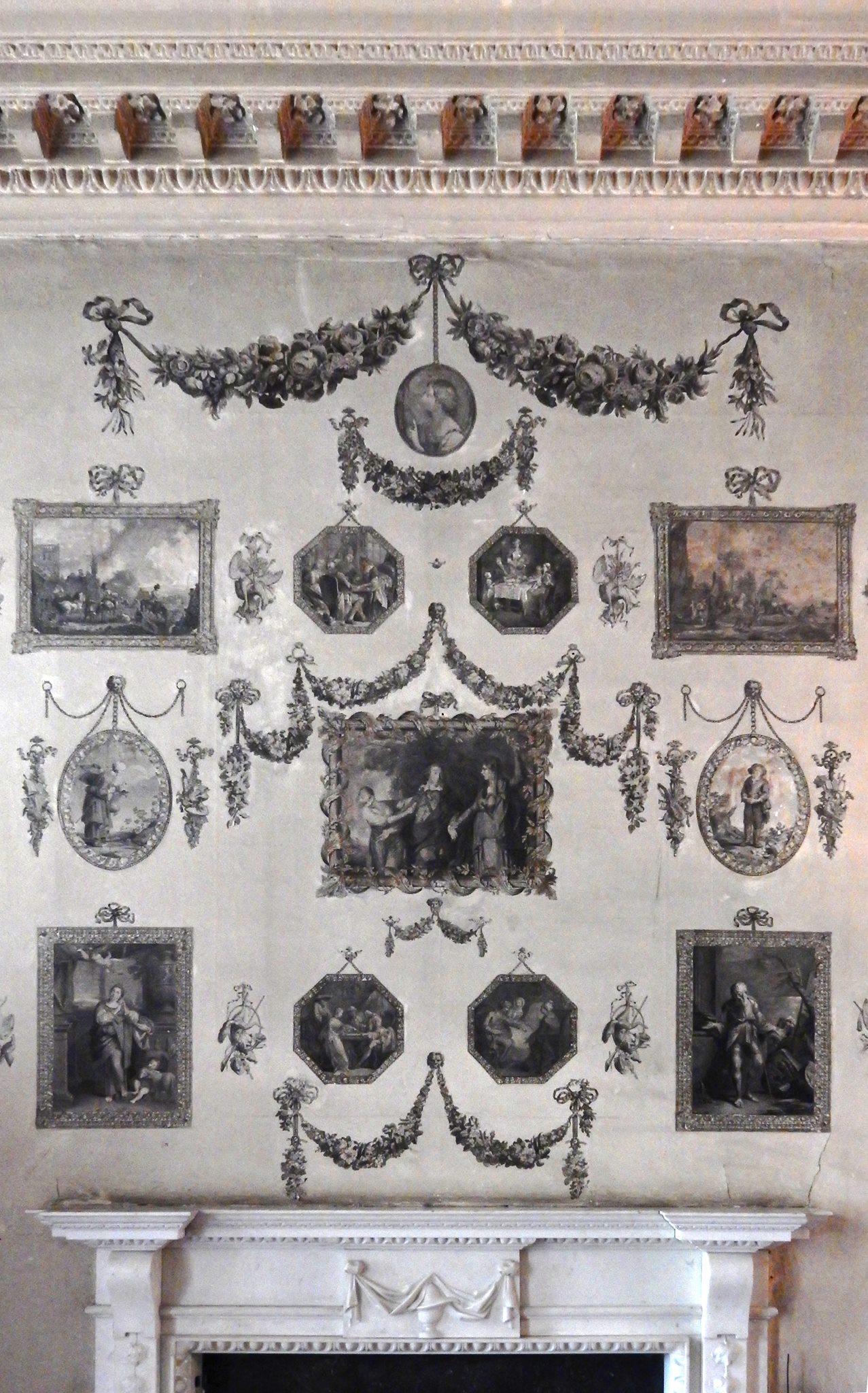27A Castletown House Ireland 1769 Print room 1760s Steve Shriver