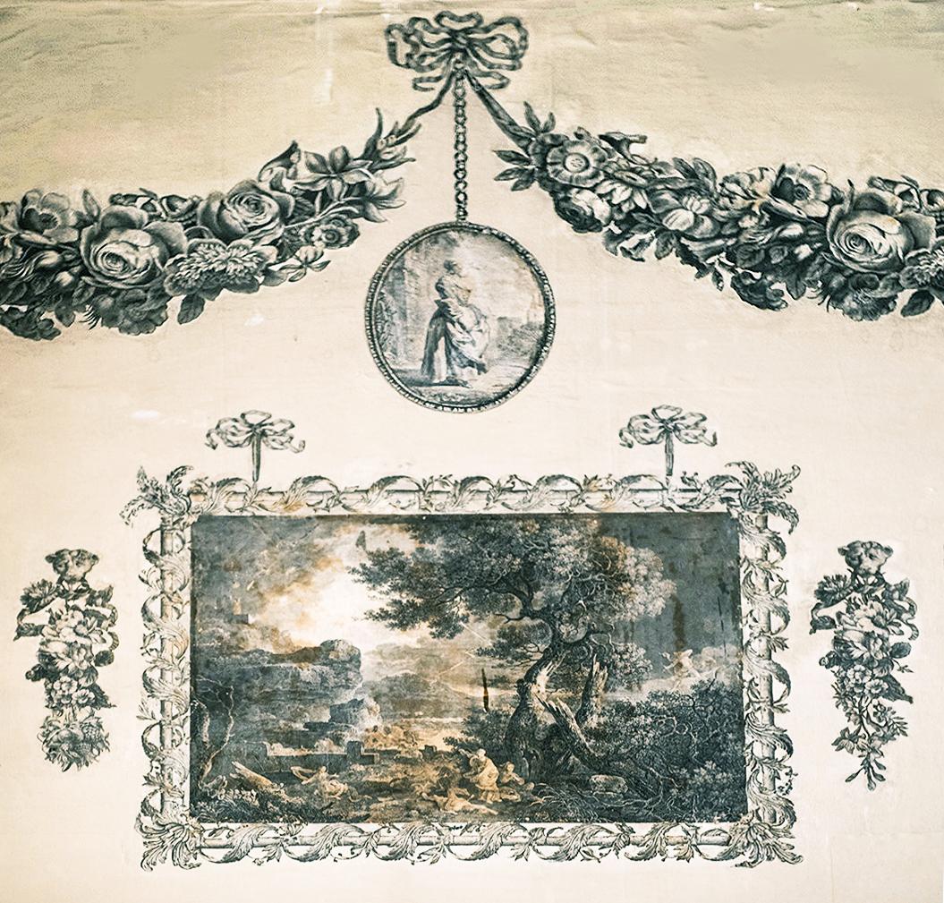 27C Print Room midC18 Castletown House prob Wm Woollett after Richard Wilson The Destruction of Niobe's Children 1760 print 1761