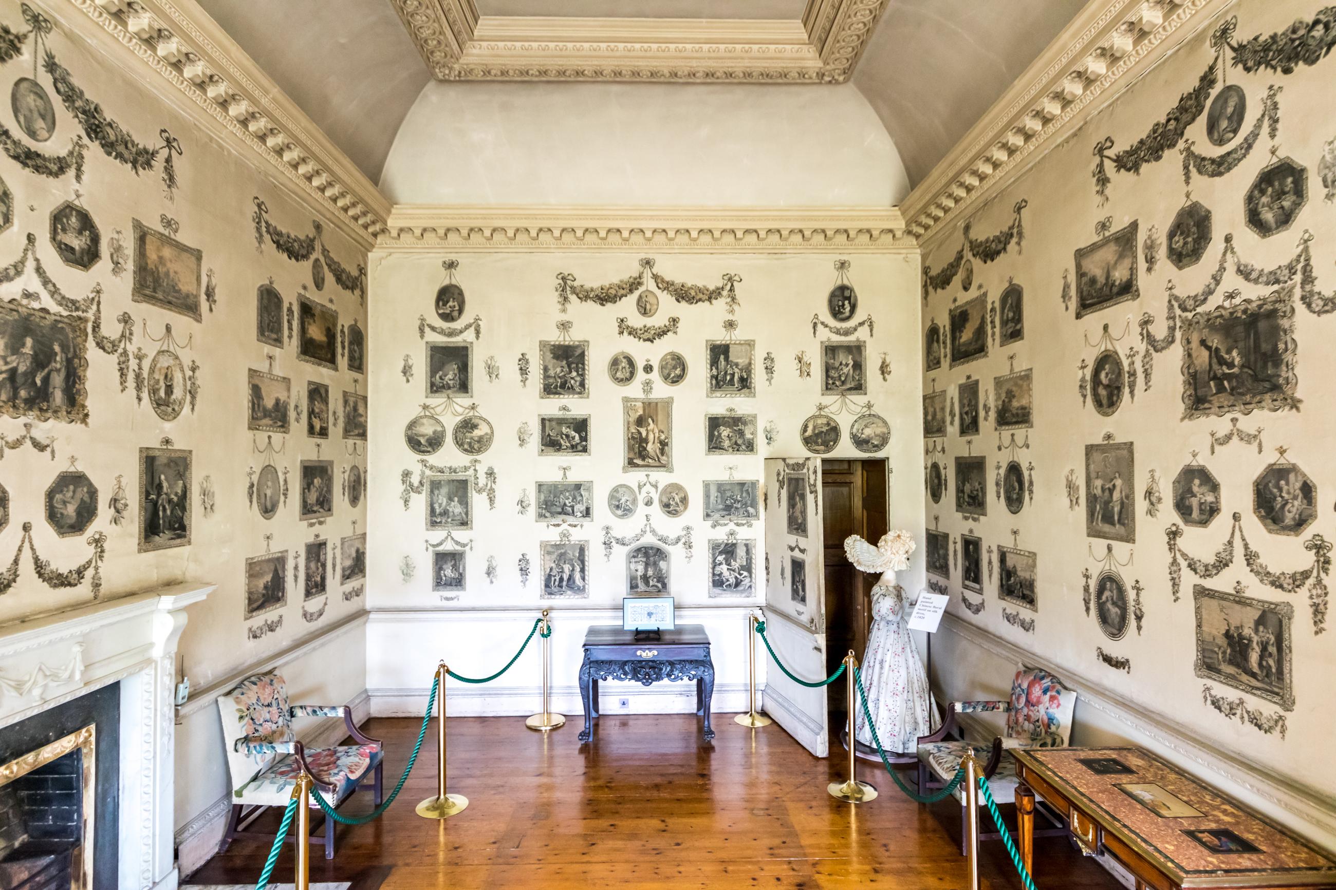 28 Castletown House Ireland Print Room 1769 7