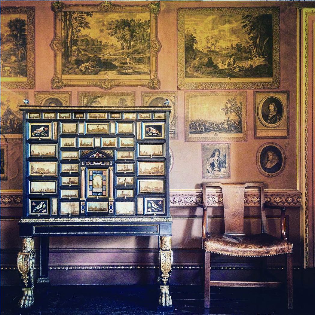 29 Rokeby Park Co Durham between 1769 & 1791 Dining room C18 prints Edkluz Insta