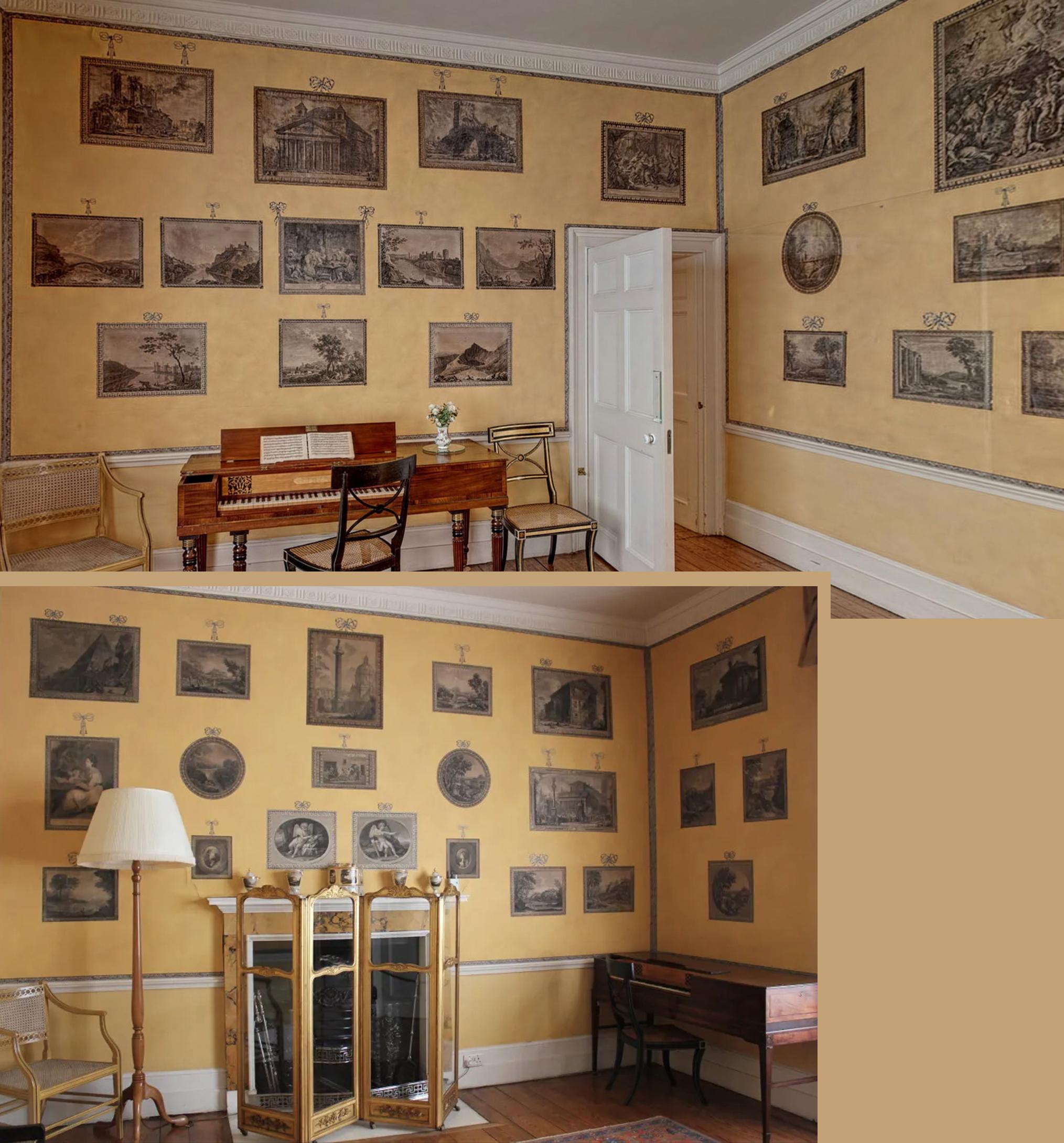 33 Blickling Hall print room