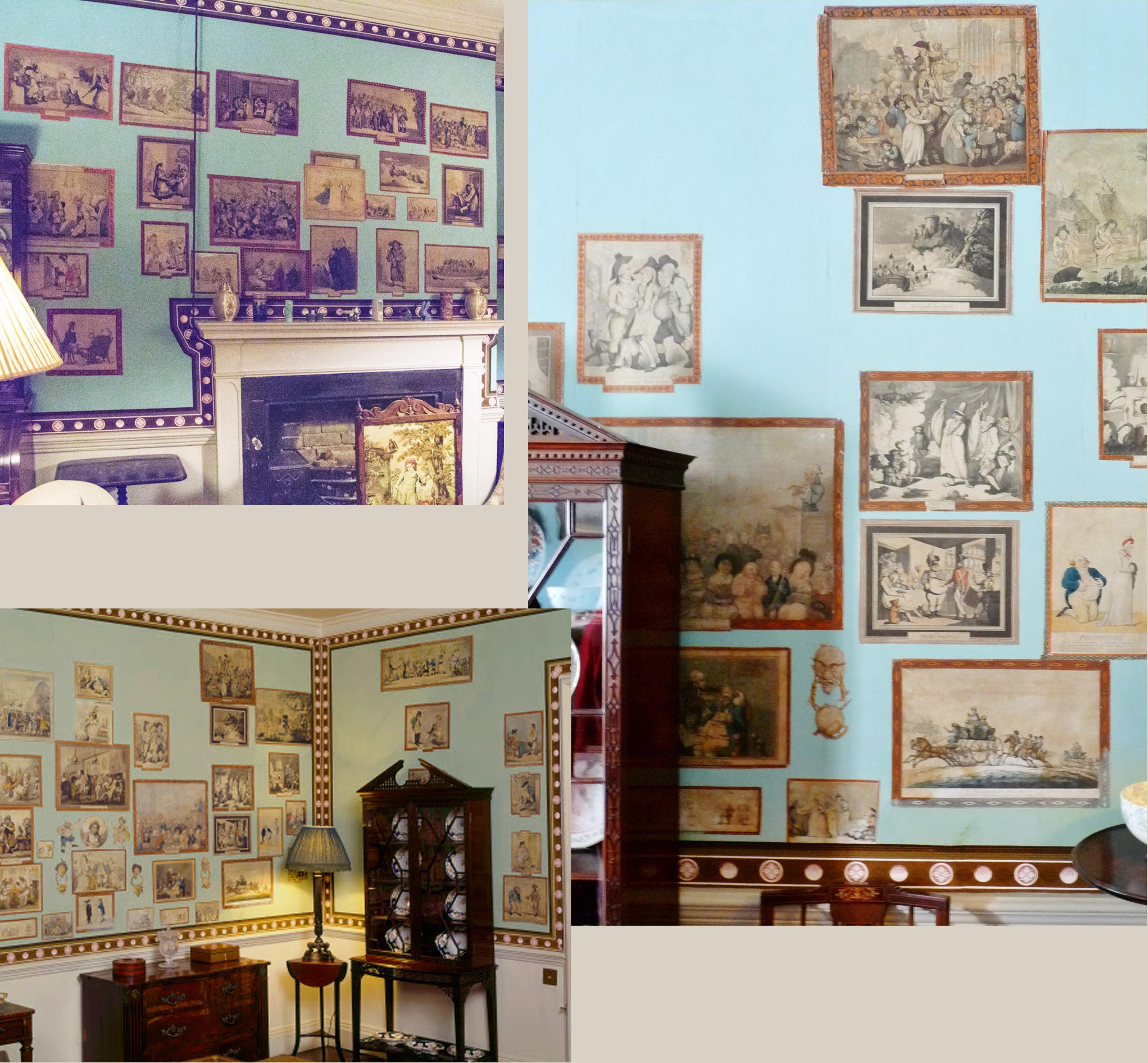 37 Calke Abbey Print Room 3