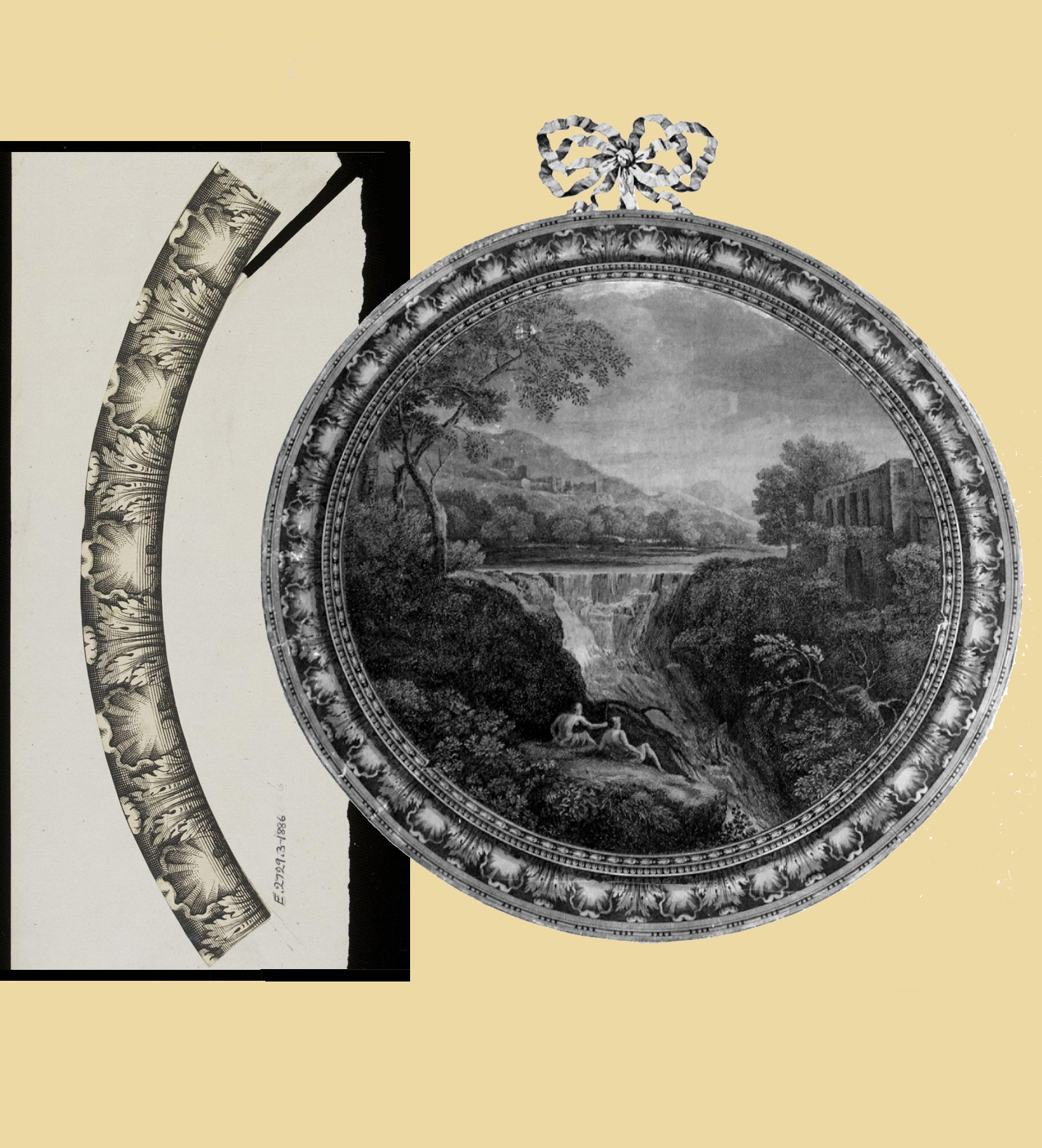 41B Blickling Hall & François Vivarès Acanthus & shell V & A