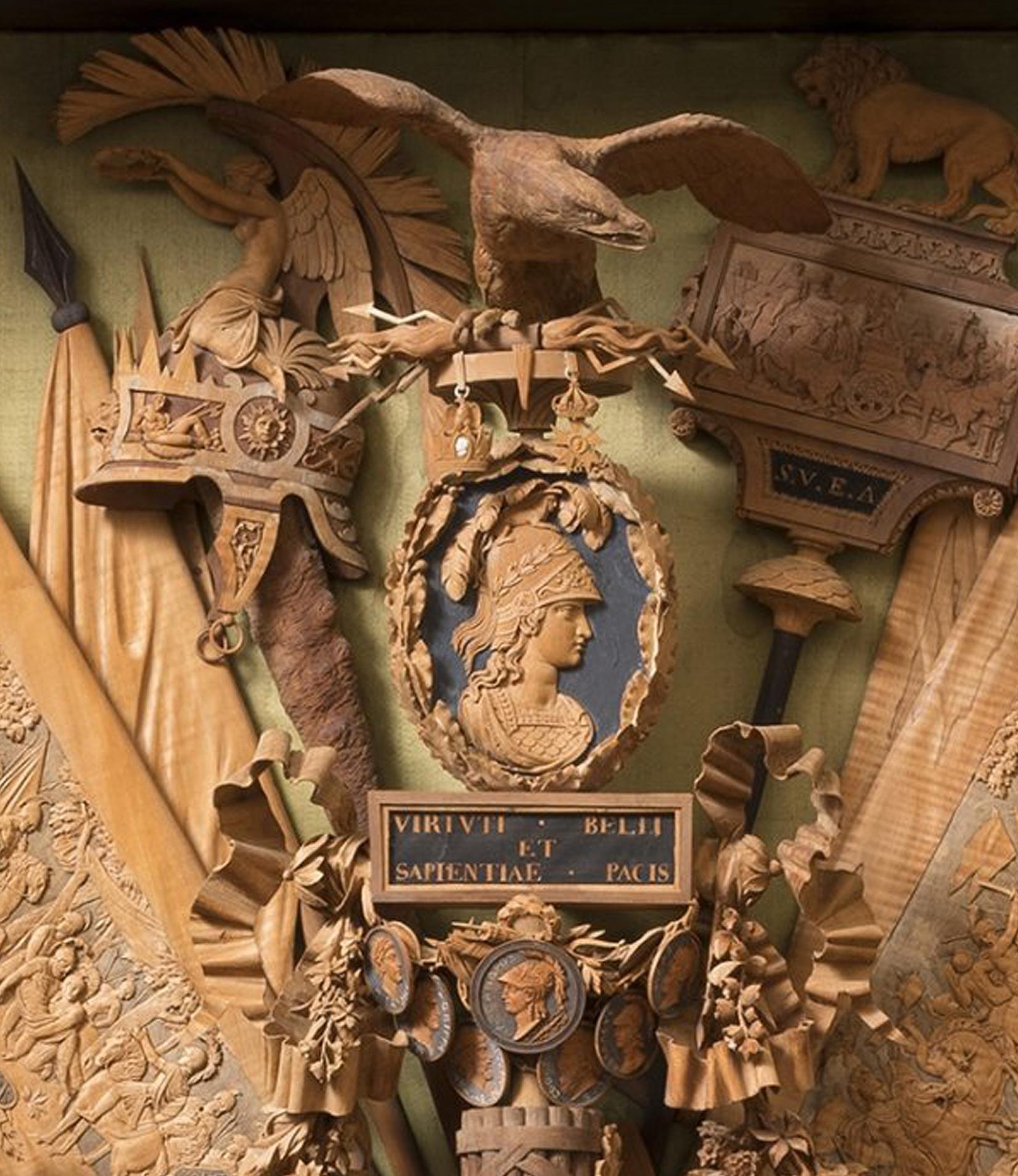 10B Bonzanigo Military trophy 1793-1814 Palazzo Madama Turin detail 1