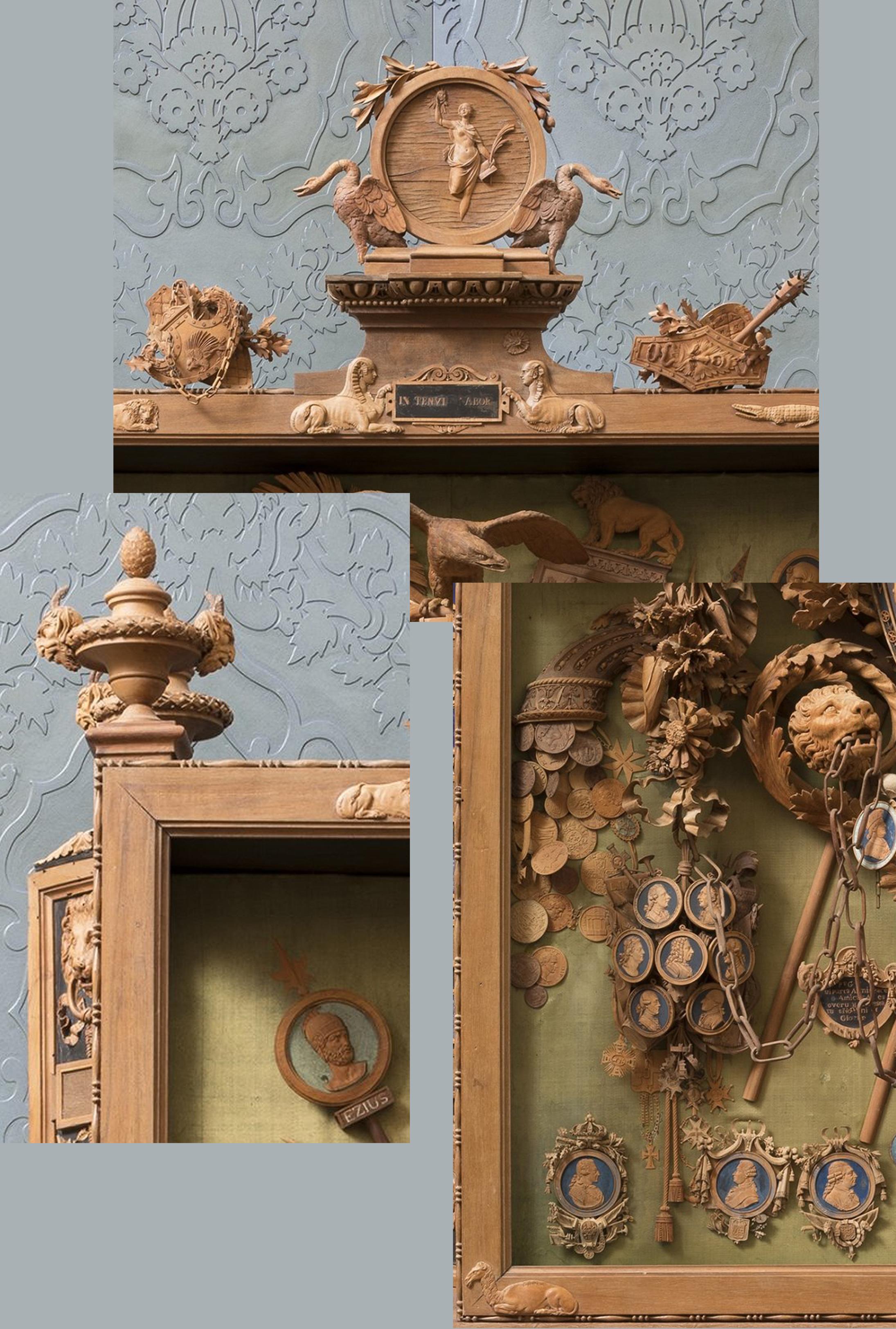 10D Bonzanigo Military trophy 1793-1814 Palazzo Madama Turin details