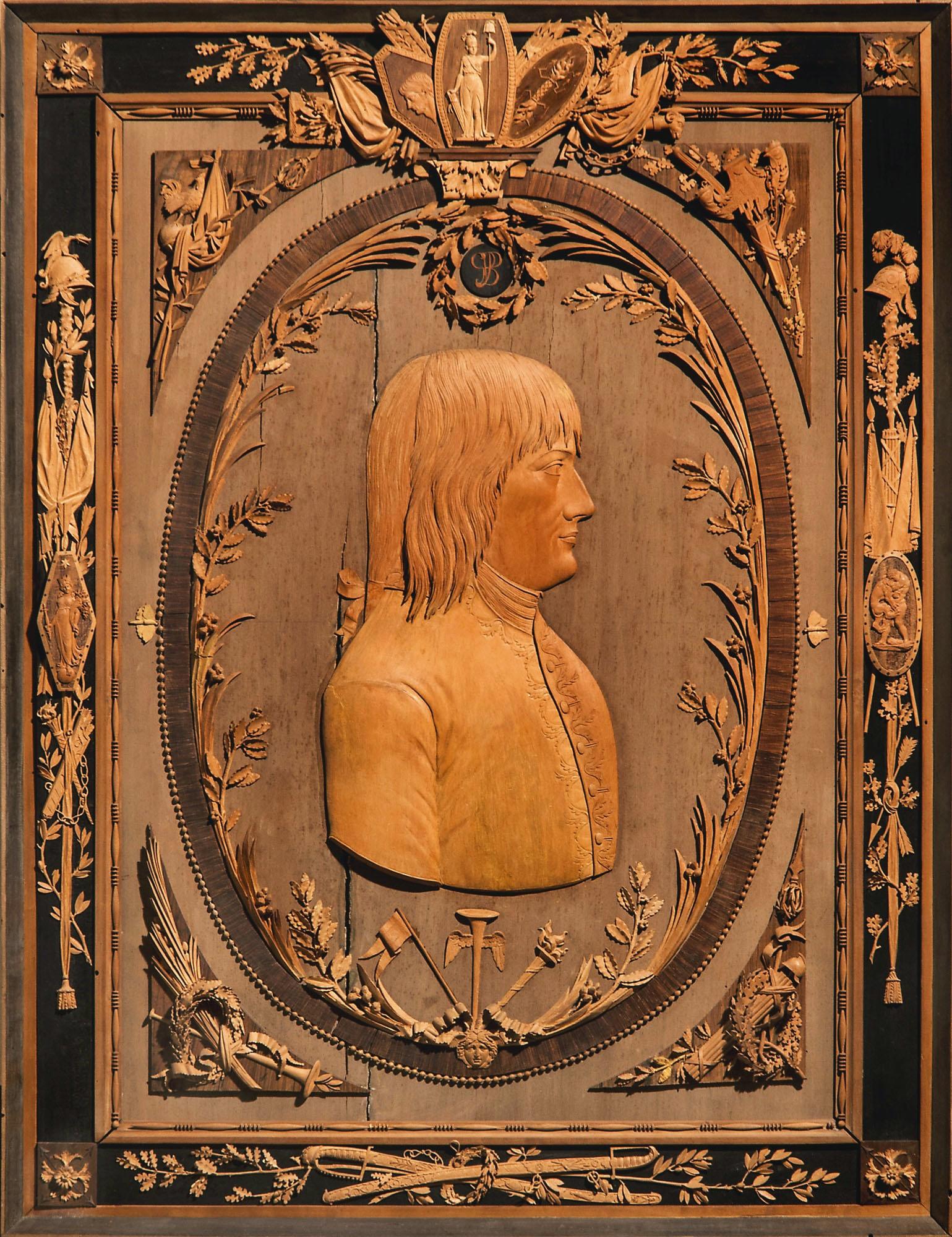 11 Bonzanigo attrib Portrait of a young Napoleon Bonaparte c1800 Sotheby s Treasures 3July2019 London Lot27