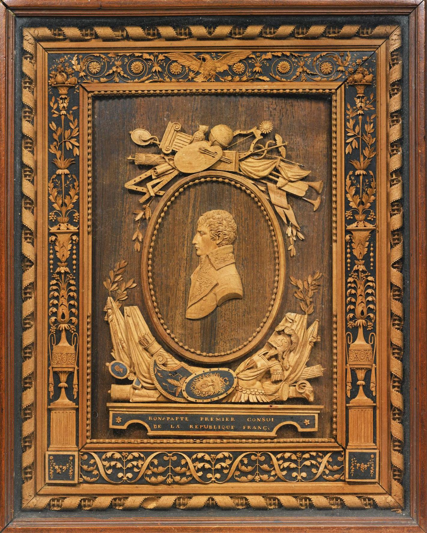 13 Bonzanigo Napoleón as First Consul of the French Republic c1800 33x26.7cm Art mart 2013
