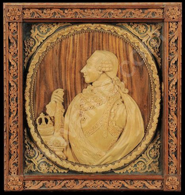 4B Giuseppe Maria Bonzanigo c1744to1820 Vittorio Amedeo III of Savoy Asta Antiquariato e Dipinti Antichi Genoa 29Sept2009 copy