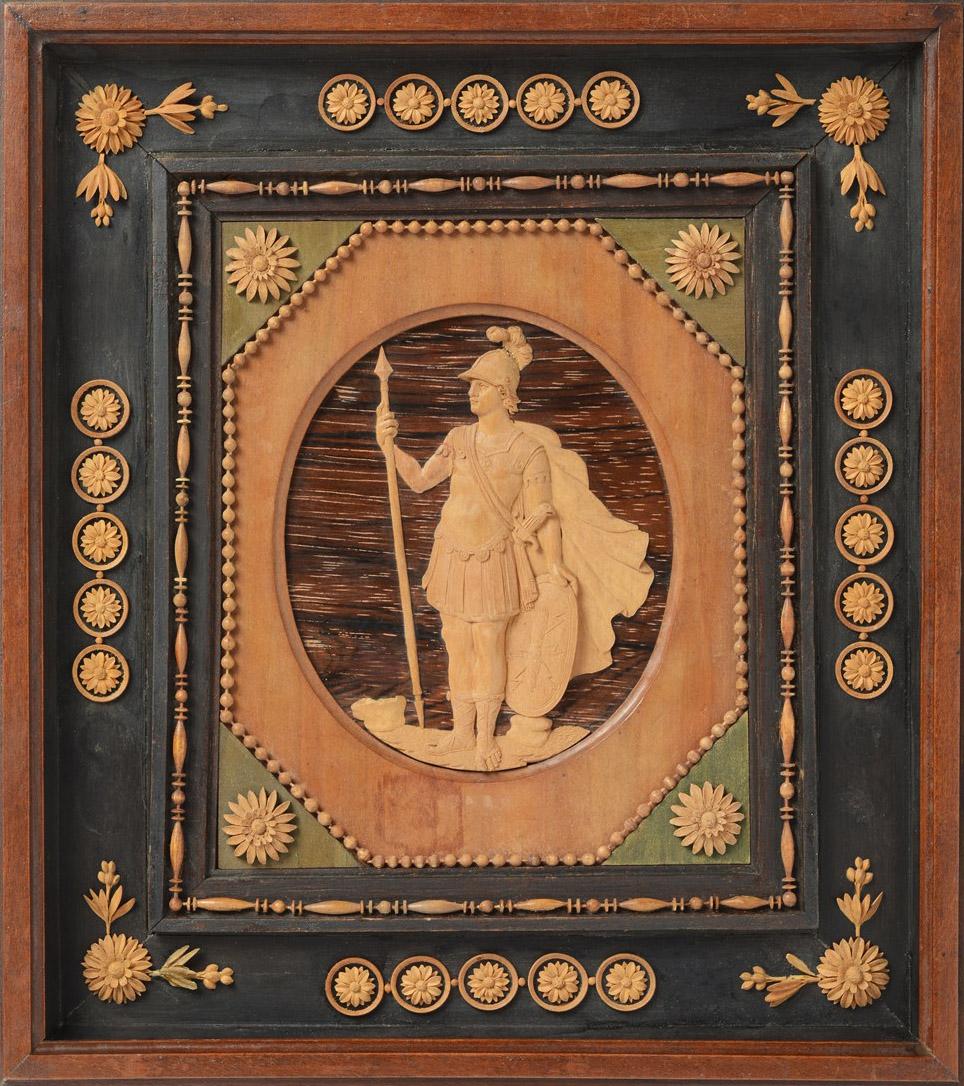 5A Bonzanigo Mars c1785 carved in ebony lemongrass tulip tree & precious woods Art Mart sale 19to20Sept2018
