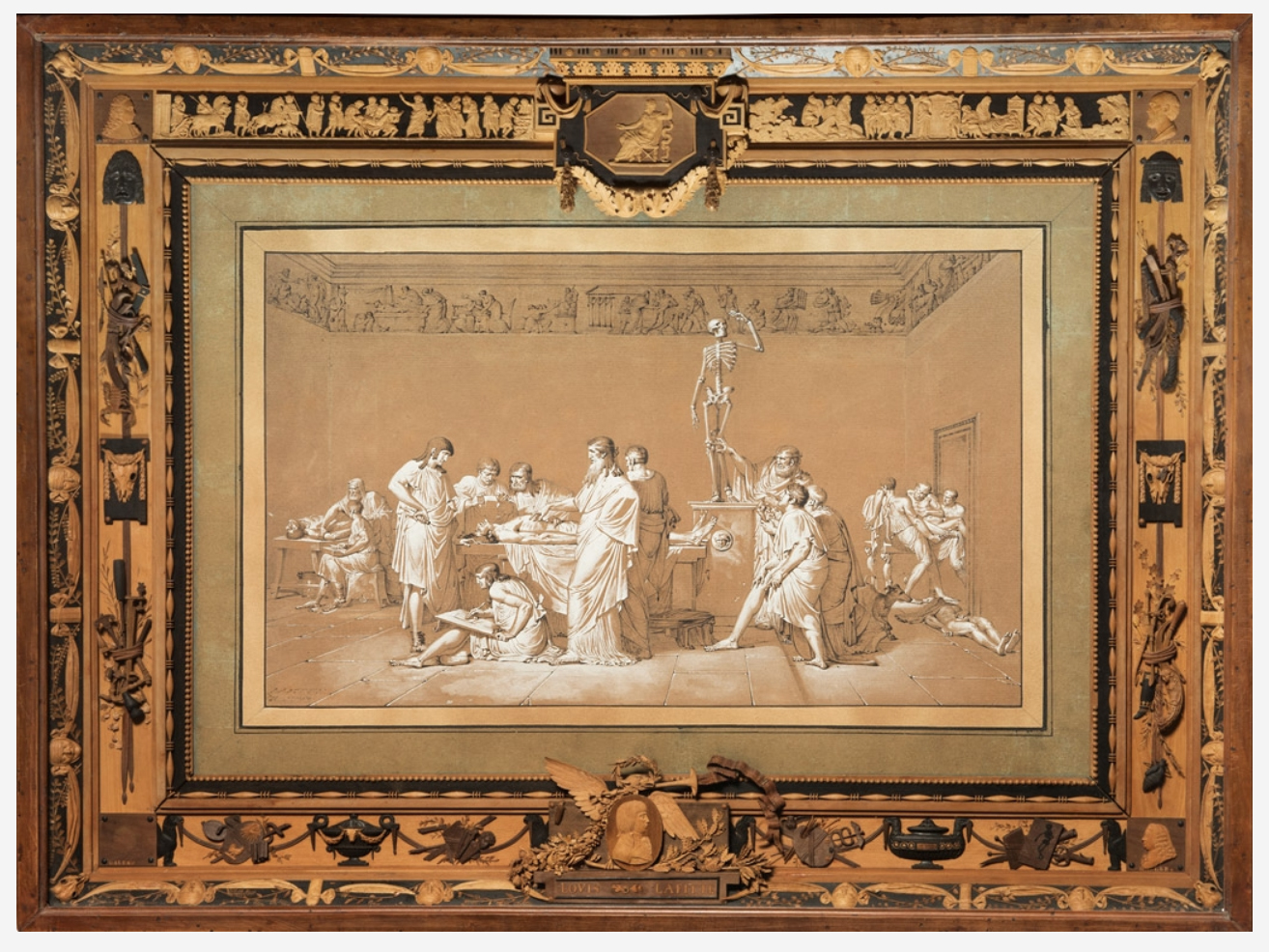 6A Bonzanigo The School of Greek Anatomy 1793 Pinacoteca Accademia Albertina Turin