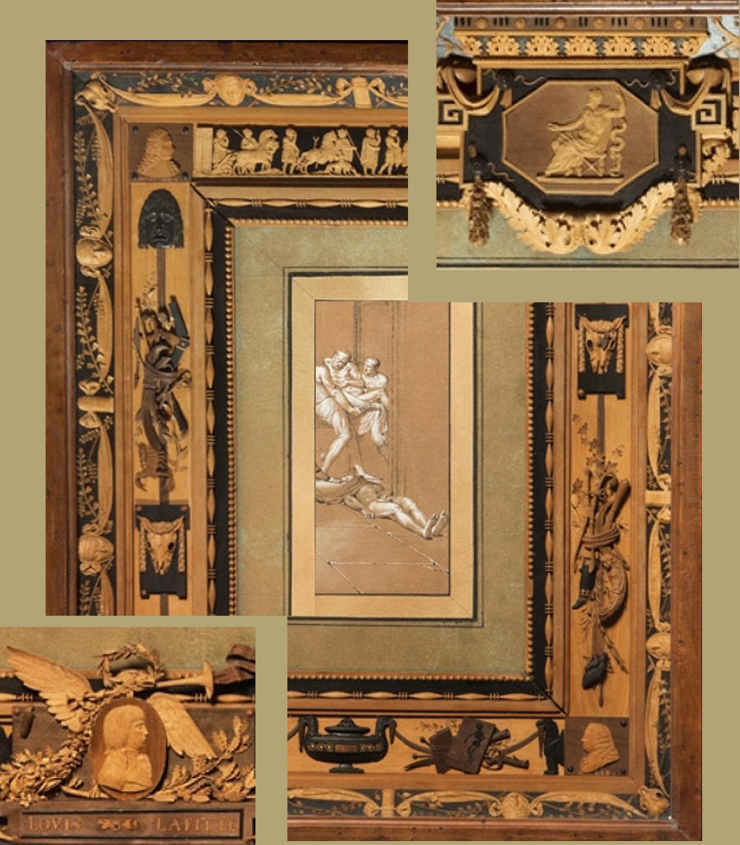 6B Bonzanigo The School of Greek Anatomy 1793 Pinacoteca Accademia Albertina Turin details